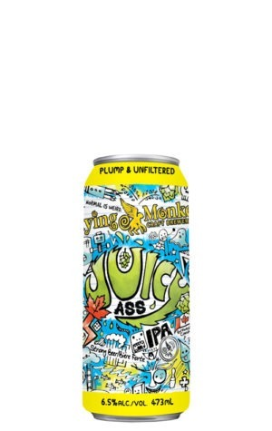 A product image for Flying Monkeys Juicy Ass IPA