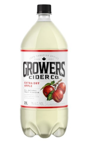 A product image for Growers Extra Dry 2L
