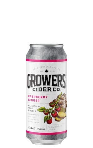 A product image for Growers Raspberry Ginger