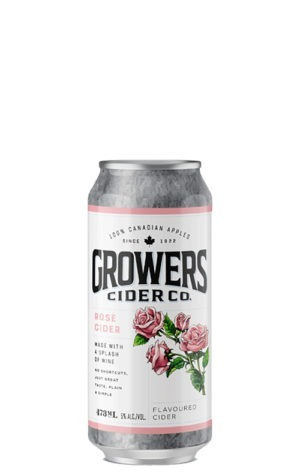 A product image for Growers Rose Cider