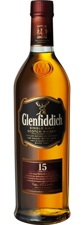 This is an image of Glenfiddich 15 YO Solera