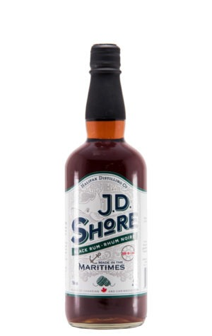 This is an image of JD Shore Black Rum 750ml