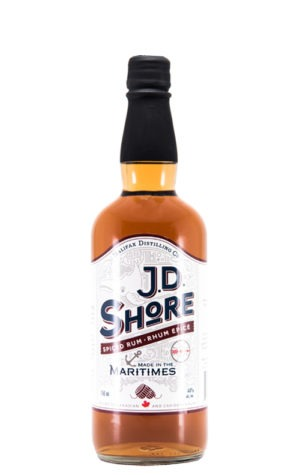 This is an image of JD Shore Spiced Rum 750ml