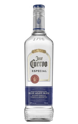 This is an image of Jose Cuervo Especial Silver