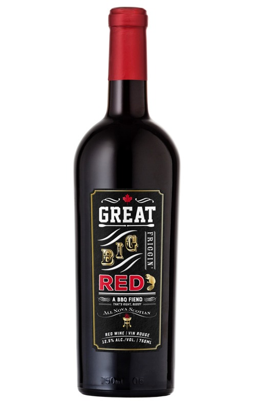 This is an image of Great Big Friggin' Red