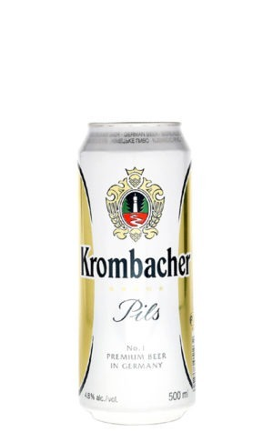 A product image for Krombacher Pilsner 500ml