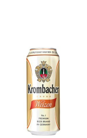 A product image for Krombacher Wheat