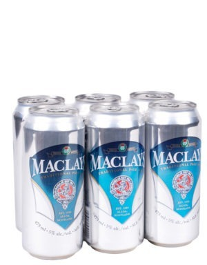 A product image for MacLays Pale Ale 6x473ml