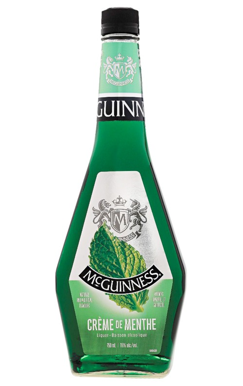 This is an image of McGuinness Creme de Menthe