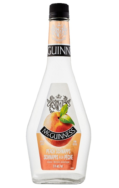 This is an image of McGuinness Peach Schnapps