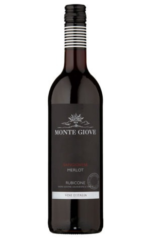 This is an image of Monte Giove Sangiovese Merlot