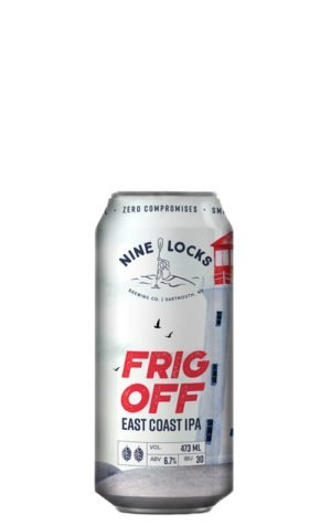 A product image for Nine Locks Frig Off IPA
