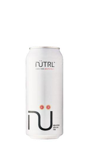 A product image for Nutrl Vodka Soda Grapefruit