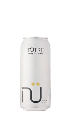 A product image for Nutrl Vodka Soda Lemon