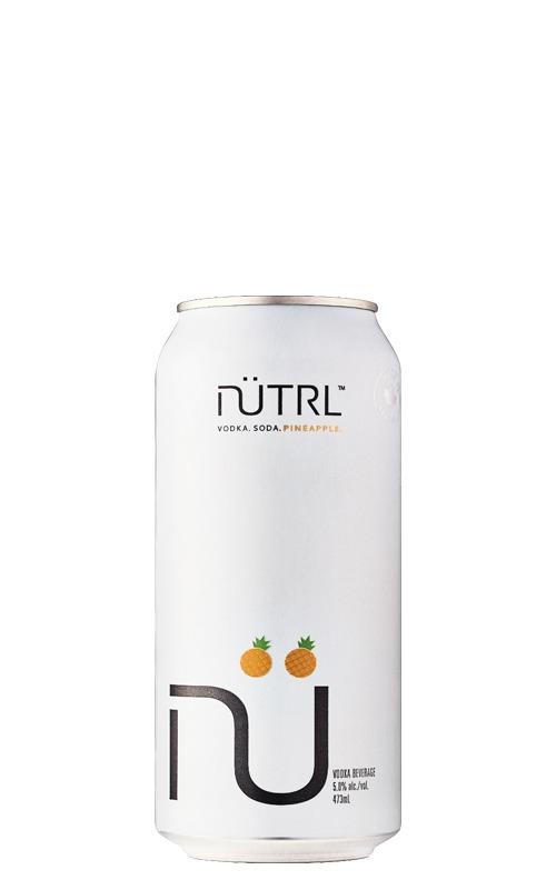 A product image for Nutrl Vodka Soda Pineapple