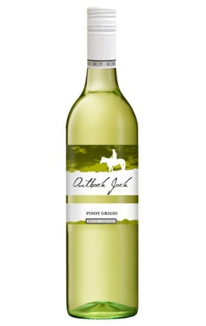 A product image for Outback Jack Pinot Grigio