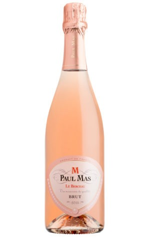 This is an image of Berceau Sparkling Rose