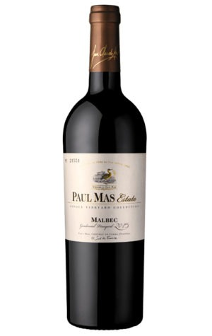 This is an image of Paul Mas Estate Malbec