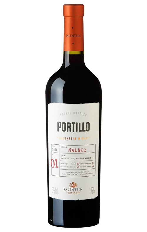 This is an image of Portillo Malbec
