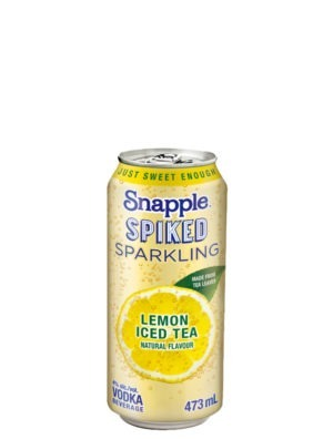A product image for Snapple Sparkling Lemon Tea