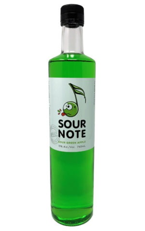 This is an image of Sour Note Sour Apple