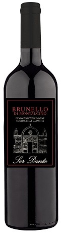 This is an image of Ser Dante Brunello Montalcino