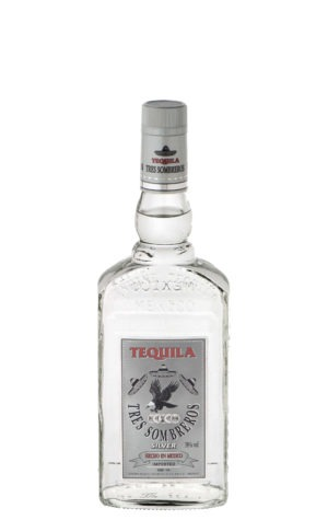 This is an image of Tres Sombreros Silver 350ml