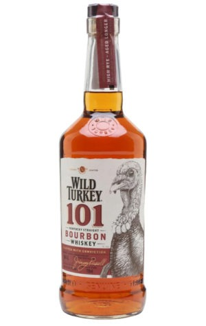 This is an image of Wild Turkey 101 Bourbon