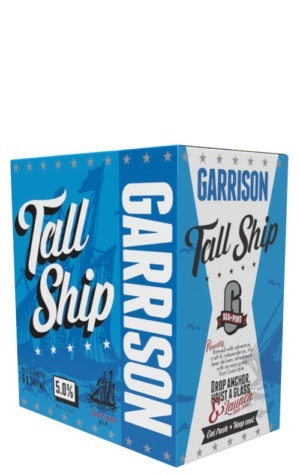 A product image for Garrison Tall Ship Ale 6x341