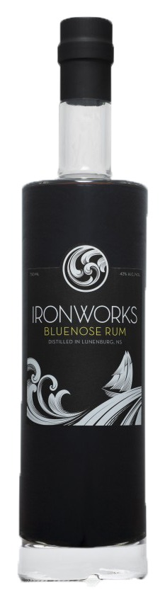 This is an image of Ironworks Bluenose Rum 750ml