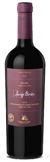 This is an image of Luigi Bosca Malbec DOC
