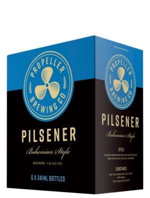 A product image for Propeller Pilsener 6x341ml