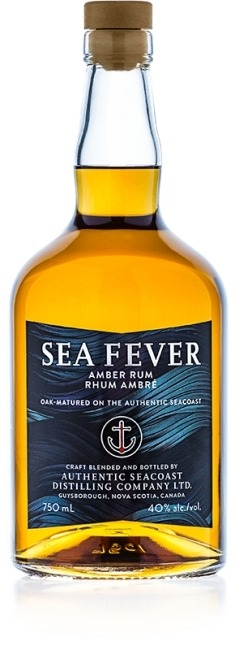 This is an image of Sea Fever Amber Rum